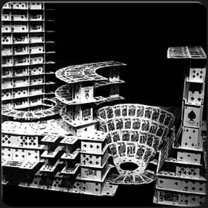 Карточные домики Браяна Берга (Bryan Berg) 11