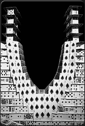 Карточные домики Браяна Берга (Bryan Berg) 15