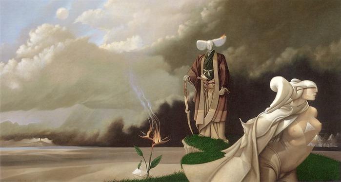 Основатель течения магического реализма Майкл Паркес (Michael Parkes) 3