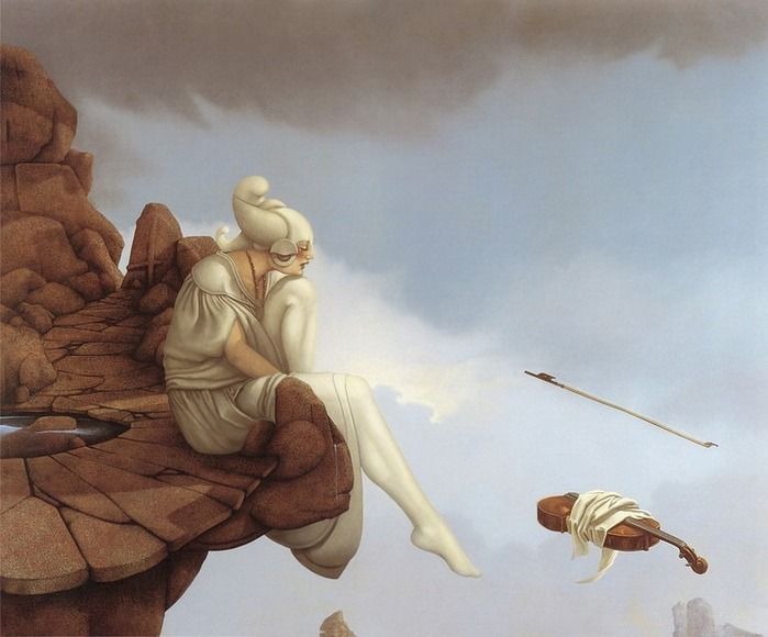 Основатель течения магического реализма Майкл Паркес (Michael Parkes) 14