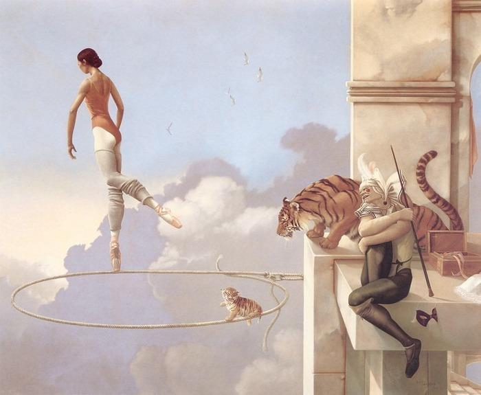 Основатель течения магического реализма Майкл Паркес (Michael Parkes) 17