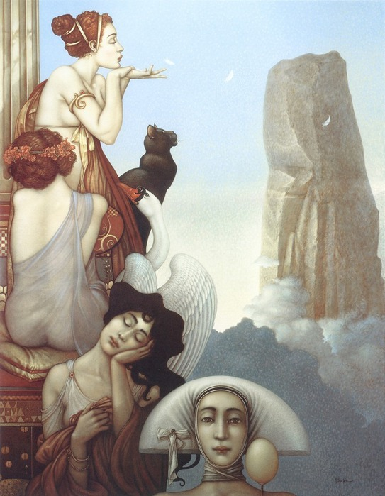 Основатель течения магического реализма Майкл Паркес (Michael Parkes) 22