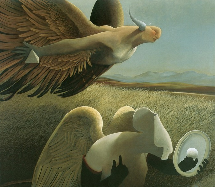 Основатель течения магического реализма Майкл Паркес (Michael Parkes) 24