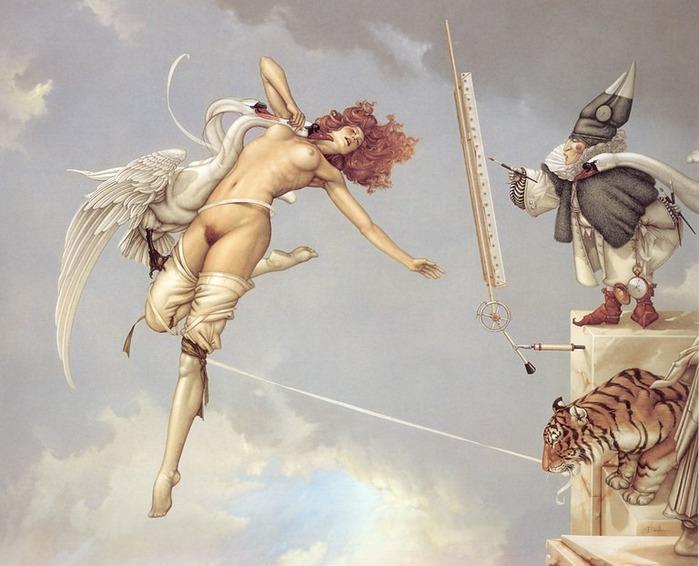 Основатель течения магического реализма Майкл Паркес (Michael Parkes) 32