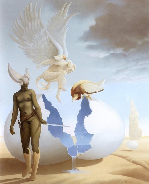 Основатель течения магического реализма Майкл Паркес (Michael Parkes) 46