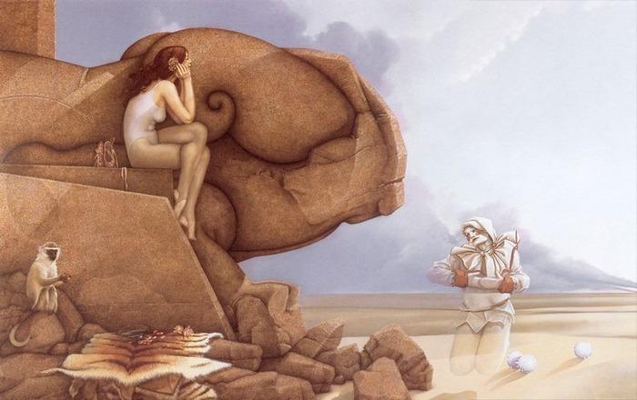 Основатель течения магического реализма Майкл Паркес (Michael Parkes) 48
