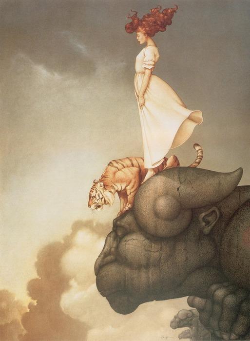 Основатель течения магического реализма Майкл Паркес (Michael Parkes) 54