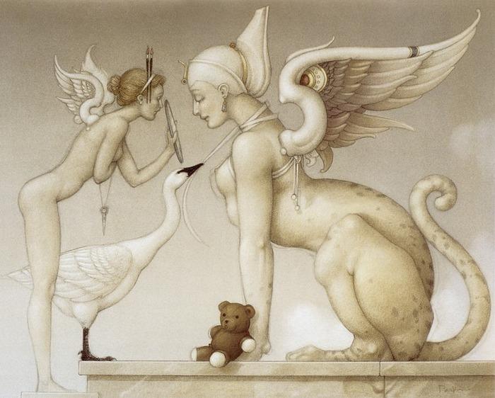 Основатель течения магического реализма Майкл Паркес (Michael Parkes) 56