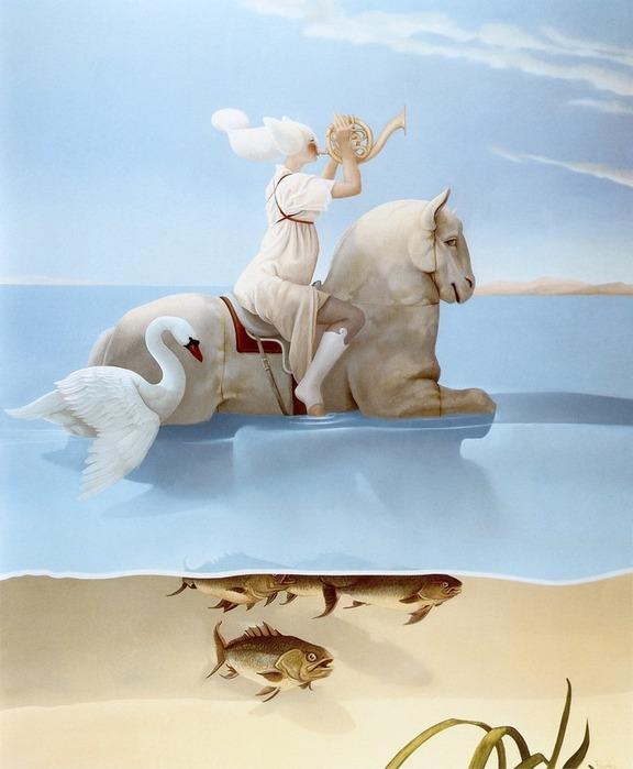 Основатель течения магического реализма Майкл Паркес (Michael Parkes) 64