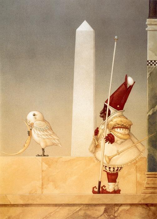 Основатель течения магического реализма Майкл Паркес (Michael Parkes) 72