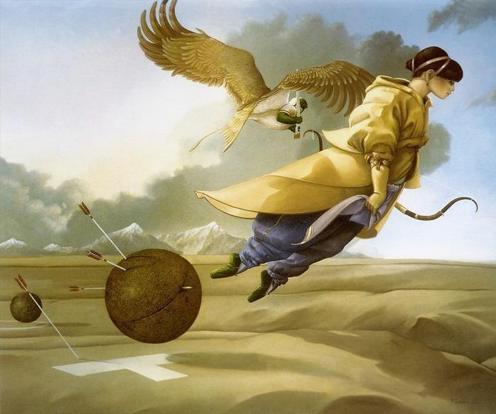 Основатель течения магического реализма Майкл Паркес (Michael Parkes) 73