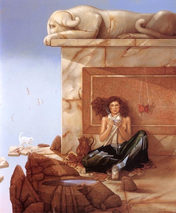 Основатель течения магического реализма Майкл Паркес (Michael Parkes) 80