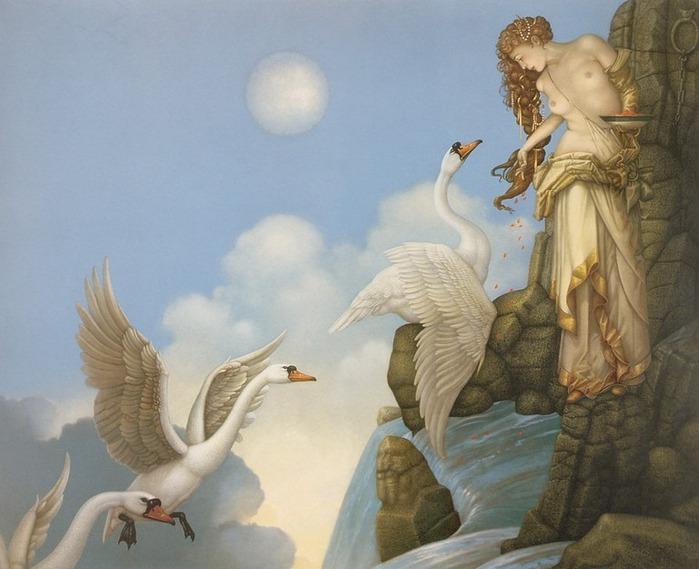 Основатель течения магического реализма Майкл Паркес (Michael Parkes) 84