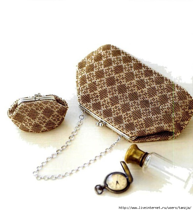 Сумочка и кошельки - вязание с