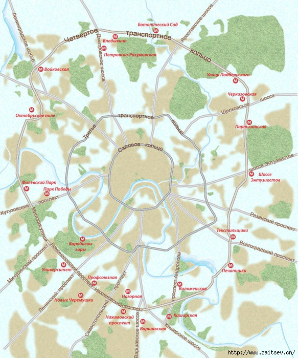 Четвертое Транспортное Кольцо Фото с сайта kartaproezda.ru  Дмитрий Зайцев zaitsev.cn