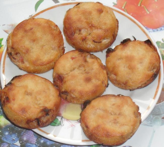 (650x581, 896Kb)Главная прелесть в этих пирожках - что в шести штуках всего триста килокалорий