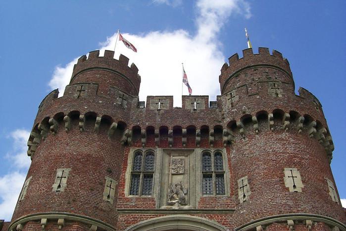 Замок Хёрстмонсо - Herstmonceux Castle 94049