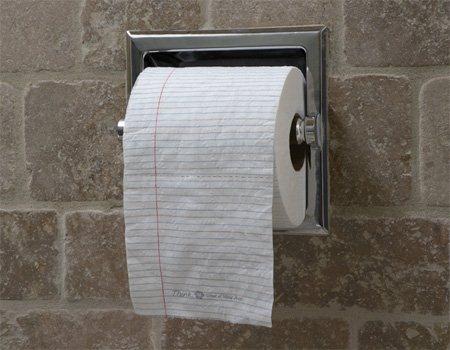 Есть ли место креативу в мире туалетной бумаги 21