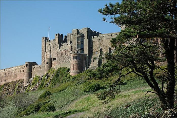 Замок Бамбург (Bamburgh) - Графство Нортумберленд 60718