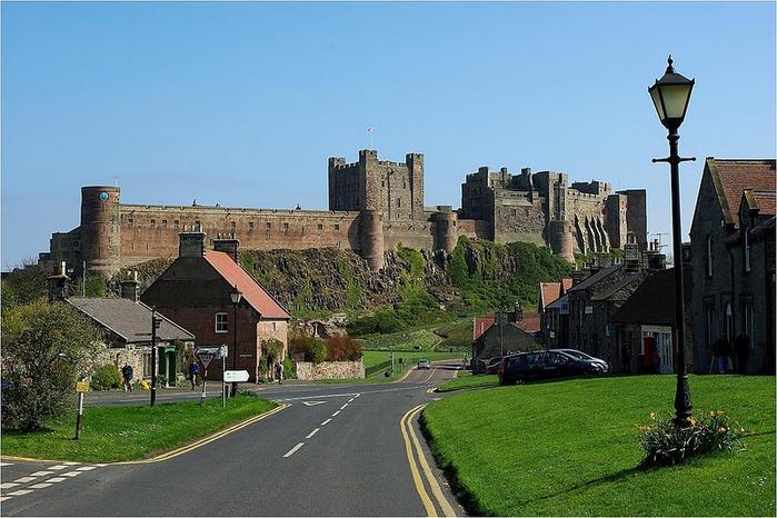 Замок Бамбург (Bamburgh) - Графство Нортумберленд 11993