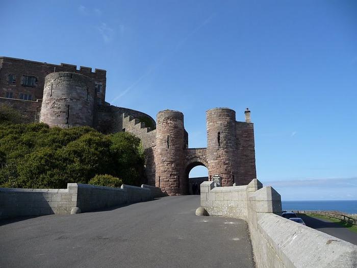 Замок Бамбург (Bamburgh) - Графство Нортумберленд 69143