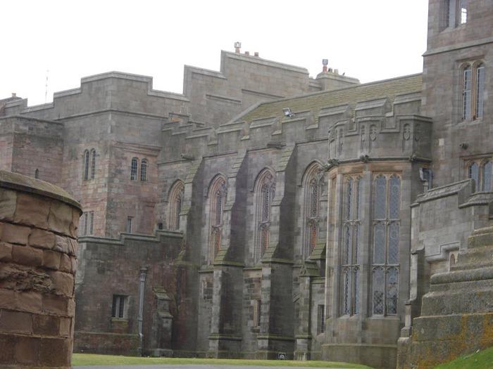 Замок Бамбург (Bamburgh) - Графство Нортумберленд 96646