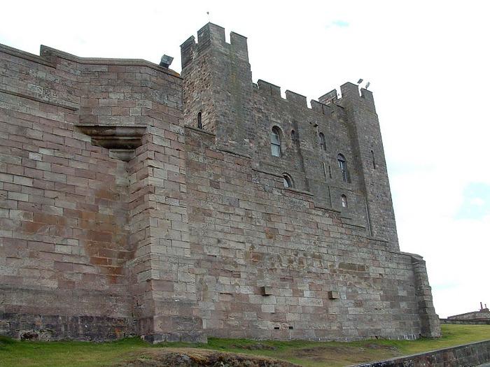 Замок Бамбург (Bamburgh) - Графство Нортумберленд 28844