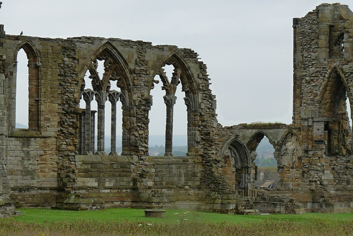 Аббатство Уитби - Whitby Abbey 25429