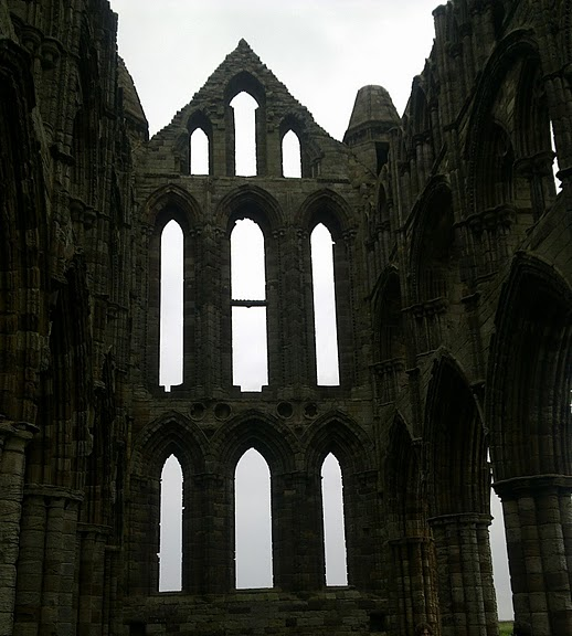 Аббатство Уитби - Whitby Abbey 61725