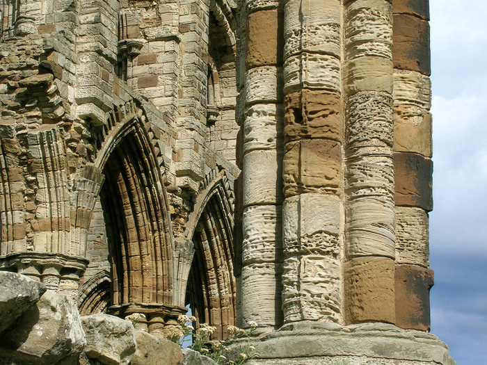 Аббатство Уитби - Whitby Abbey 18460
