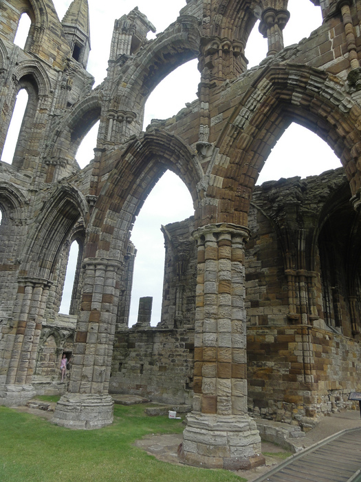Аббатство Уитби - Whitby Abbey 82083