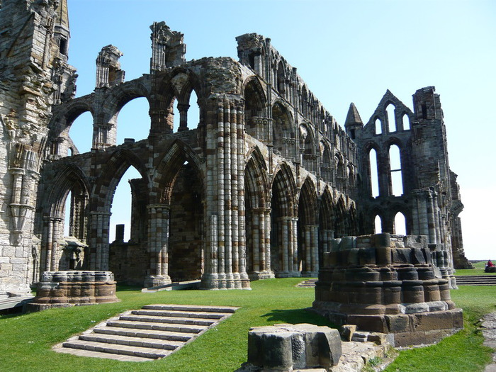 Аббатство Уитби - Whitby Abbey 44644