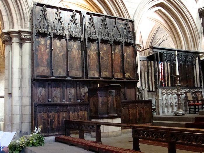 Hexham Abbey, Northumberland, England 64635