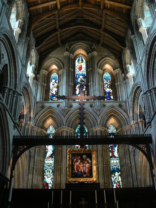 Hexham Abbey, Northumberland, England 98766