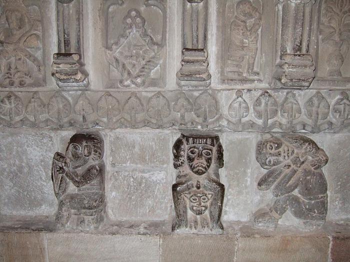 Hexham Abbey, Northumberland, England 53741