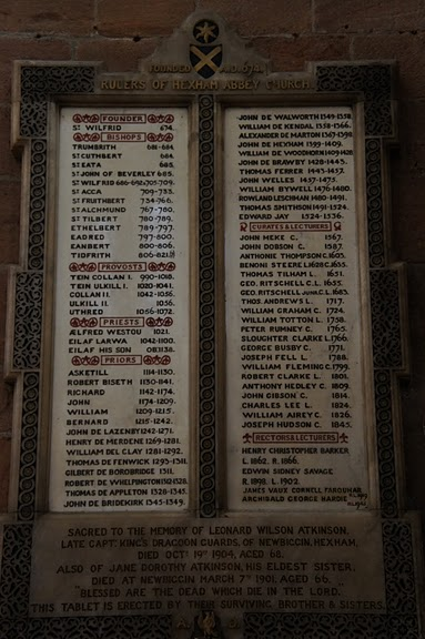 Hexham Abbey, Northumberland, England 14706