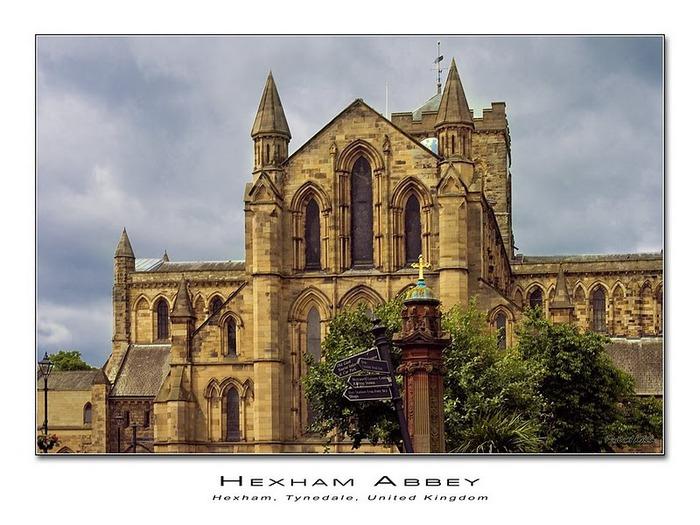 Hexham Abbey, Northumberland, England 27015