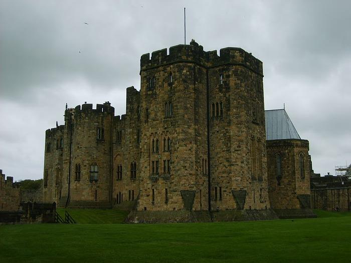 Замок Гарри Поттера - Замок Алник - Alnwick Castle 87373