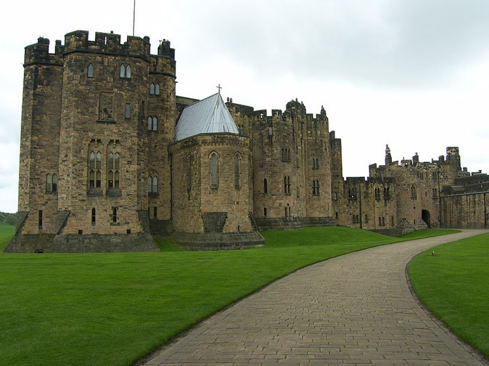 Замок Гарри Поттера - Замок Алник - Alnwick Castle 99879