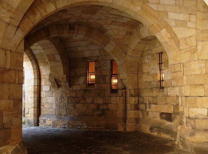 Замок Гарри Поттера - Замок Алник - Alnwick Castle 26899
