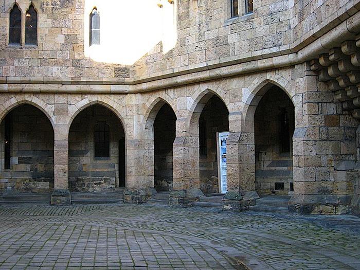Замок Гарри Поттера - Замок Алник - Alnwick Castle 72753