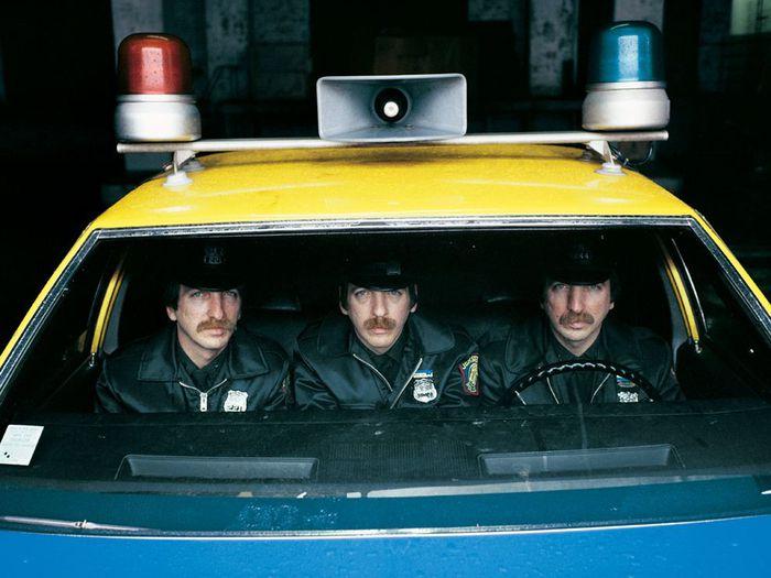 три брата близнеца полицейских