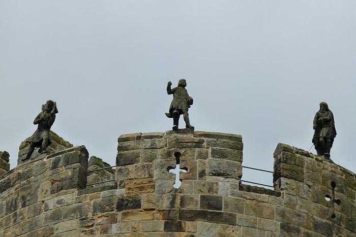 Замок Гарри Поттера - Замок Алник - Alnwick Castle 53926