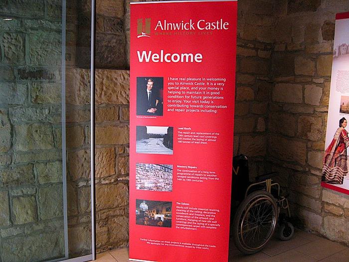 Замок Гарри Поттера - Замок Алник - Alnwick Castle 81098