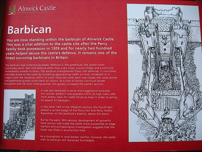 Замок Гарри Поттера - Замок Алник - Alnwick Castle 96202
