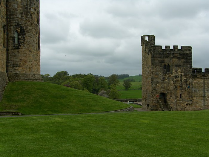 Замок Гарри Поттера - Замок Алник - Alnwick Castle 48116