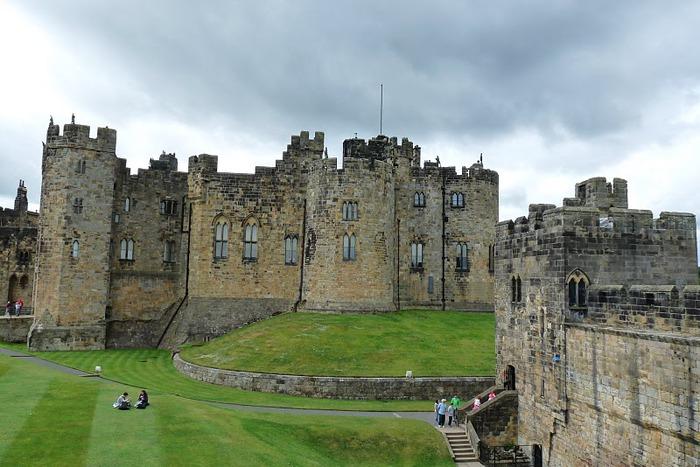 Замок Гарри Поттера - Замок Алник - Alnwick Castle 30854