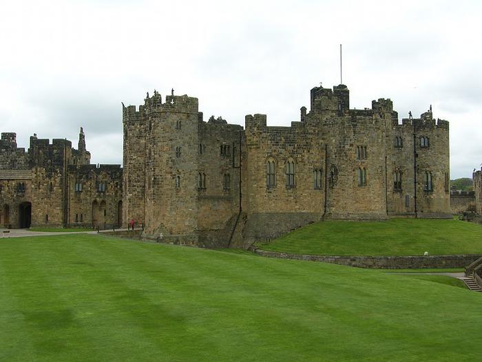 Замок Гарри Поттера - Замок Алник - Alnwick Castle 80573