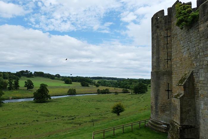 Замок Гарри Поттера - Замок Алник - Alnwick Castle 53544