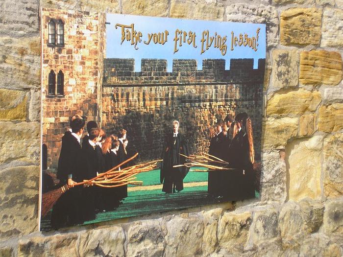 Замок Гарри Поттера - Замок Алник - Alnwick Castle 98985